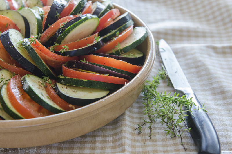 Provencal Vegetable Tian - Taste of Savoie