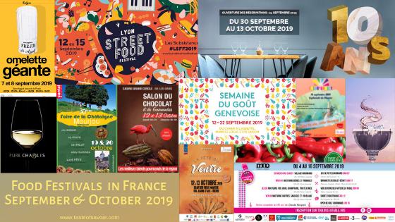 Food Wine Festivals In France In September October 2019